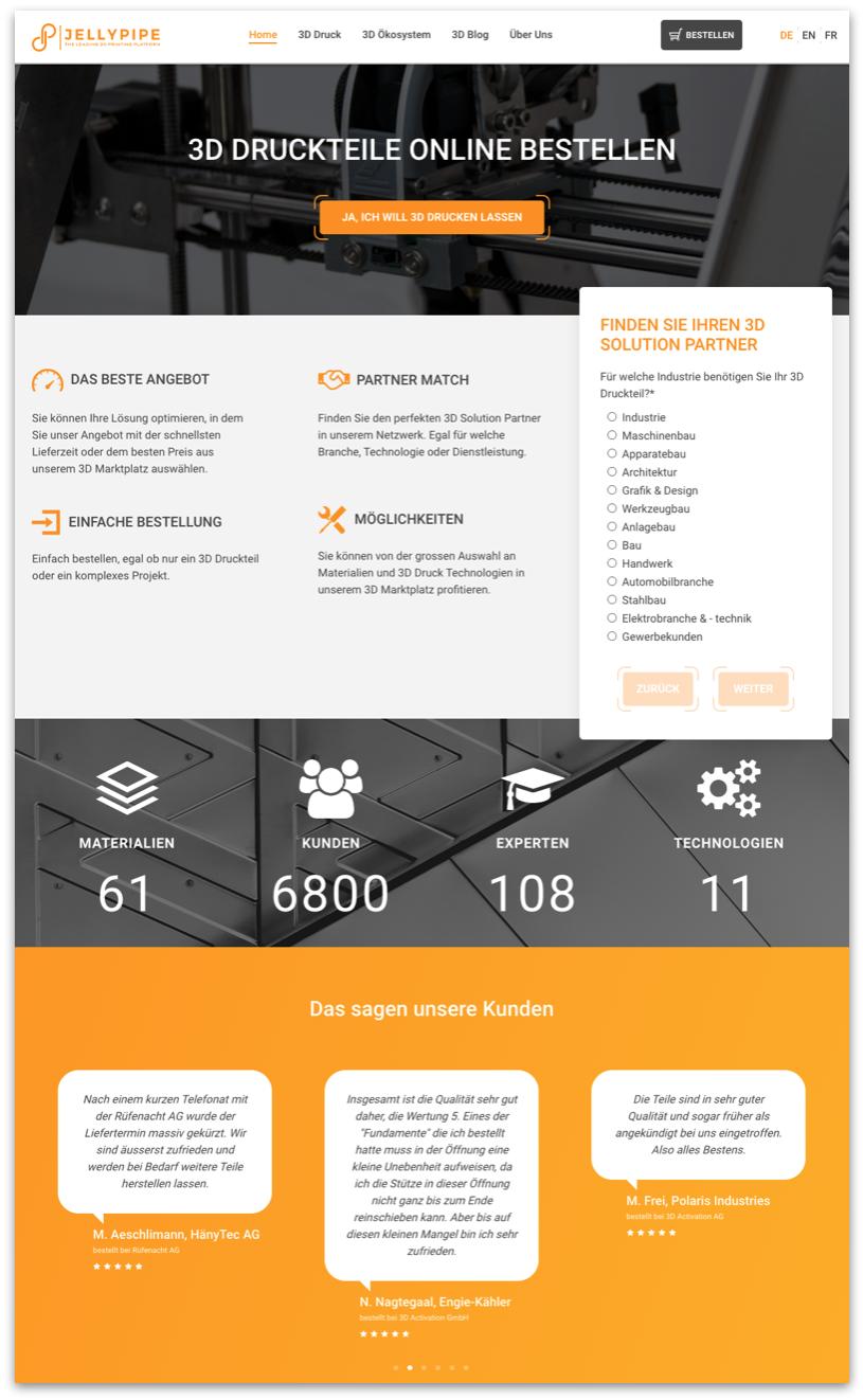 Jellypipe_Website Design