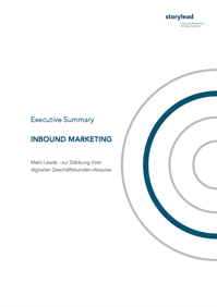 Cover_Executive Summary Inbound Marketing