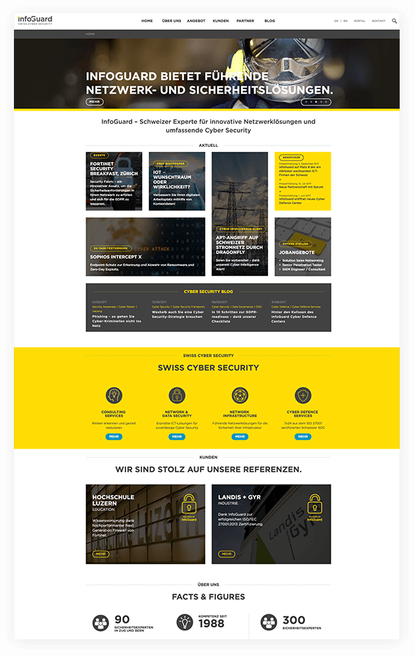 Storylead Lead Story InfoGuard AG Website